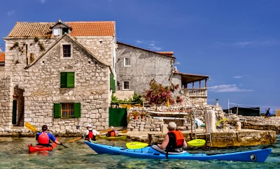 Kayaking Croatia